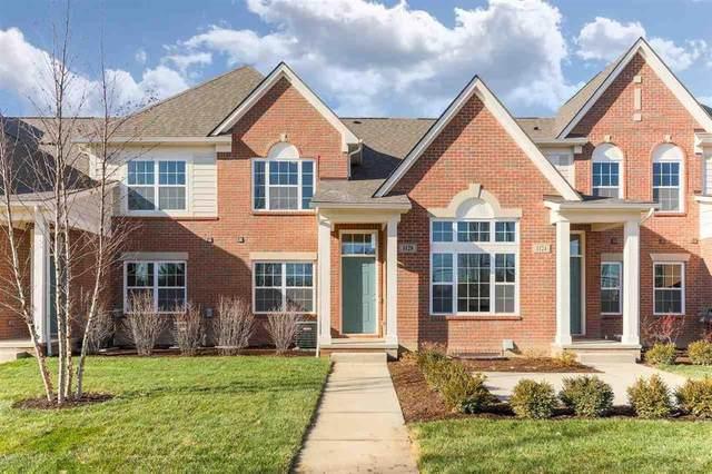 45486 Aragon Lane #53, Canton Twp, MI 48187 (#58050031120) :: The Alex Nugent Team | Real Estate One