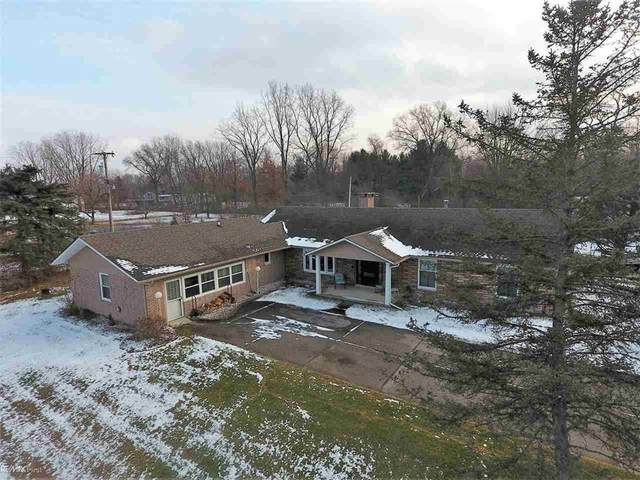 5885 Shea, Cottrellville Twp, MI 48039 (#58050031138) :: The Alex Nugent Team   Real Estate One