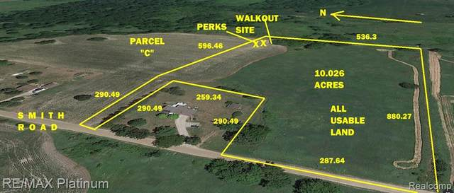 VL Parcel C Smith Road, Handy Twp, MI 48836 (#2200101479) :: Robert E Smith Realty