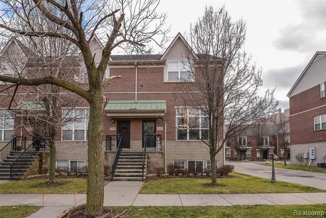 292 E Palmer Street, Detroit, MI 48201 (#2200101620) :: The Merrie Johnson Team