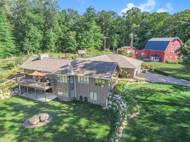 2650 Peaceful Valley Road, Bedford Twp, MI 49017 (#69020039420) :: The Alex Nugent Team | Real Estate One
