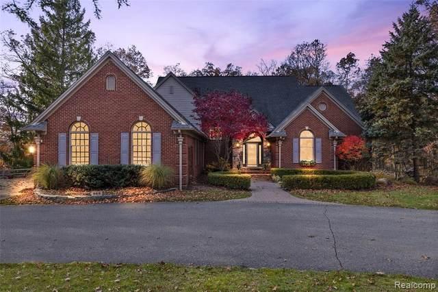 868 Peach Tree Lane, Rochester Hills, MI 48306 (#2200102290) :: The Alex Nugent Team | Real Estate One