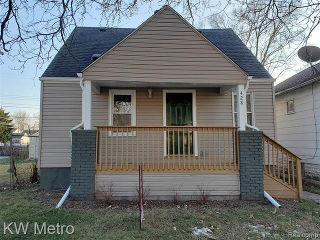 428 E Hayes Avenue, Hazel Park, MI 48030 (MLS #2200102513) :: The John Wentworth Group