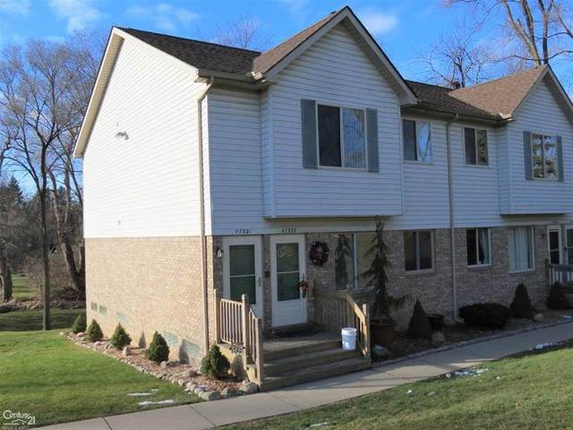 67321 Van Dyke Rd, Washington Twp, MI 48095 (#58050031472) :: The Mulvihill Group