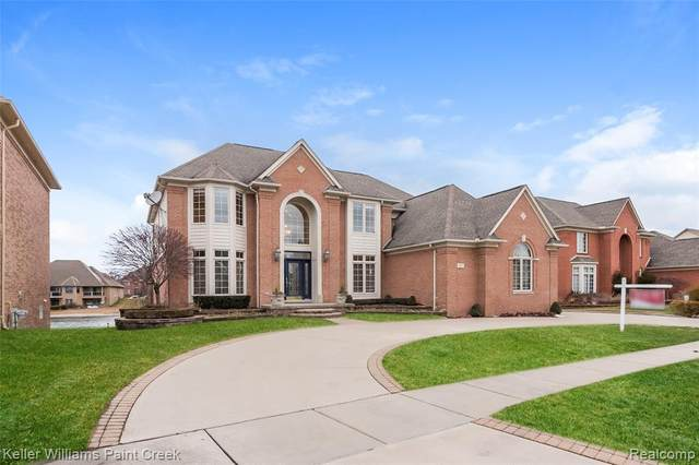 13191 Azure Drive, Shelby Twp, MI 48315 (MLS #2210000333) :: The John Wentworth Group
