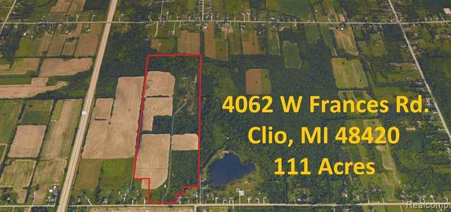 4062 Frances Road, Vienna Twp, MI 48420 (#2210000411) :: NextHome Showcase