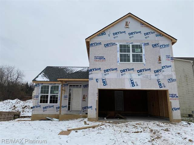 5013 Walsh, Brighton, MI 48114 (#2210000527) :: Real Estate For A CAUSE