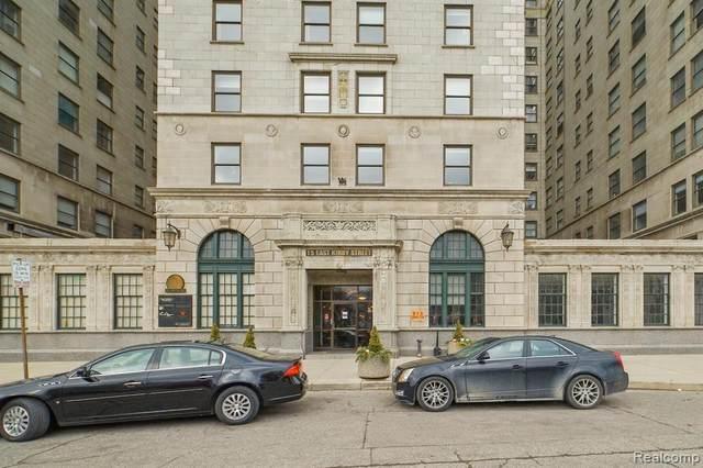 15 E Kirby Street #1222, Detroit, MI 48202 (#2210000588) :: The Alex Nugent Team | Real Estate One