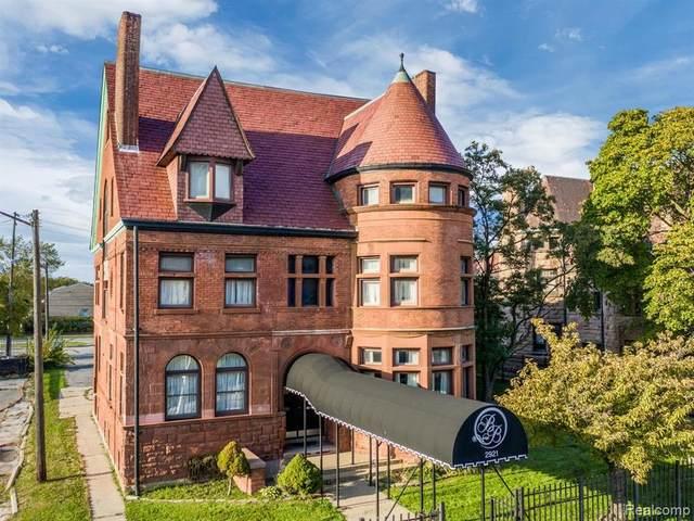 2921 E Jefferson Avenue, Detroit, MI 48207 (#2210000615) :: Duneske Real Estate Advisors