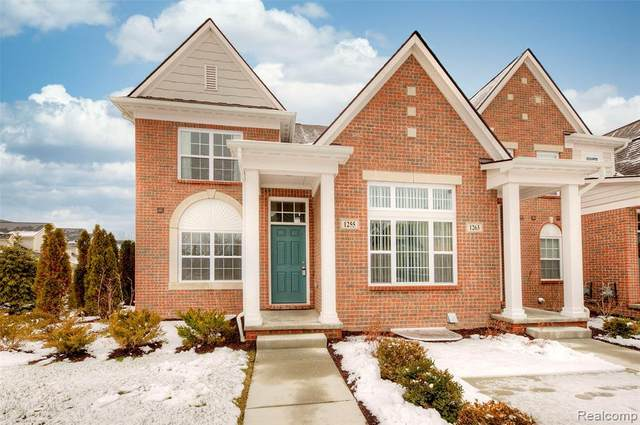 1255 Orchid Circle, Canton Twp, MI 48187 (#2210000784) :: The Mulvihill Group