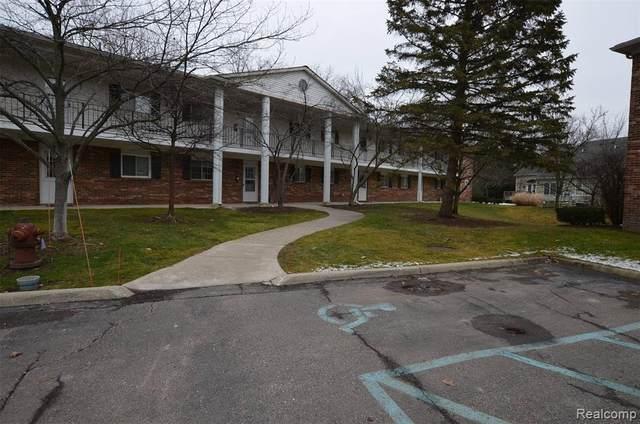 23428 Middlebelt Road #13, Farmington Hills, MI 48336 (#2210000813) :: Keller Williams West Bloomfield