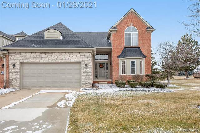 47879 Vistas Circle Drive S, Canton Twp, MI 48188 (#2210000912) :: Keller Williams West Bloomfield