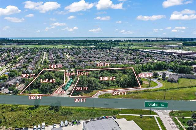 Outlot 2 Gratiot (Kings Pointe Blvd), Chesterfield Twp, MI 48051 (#2210000964) :: The Alex Nugent Team | Real Estate One