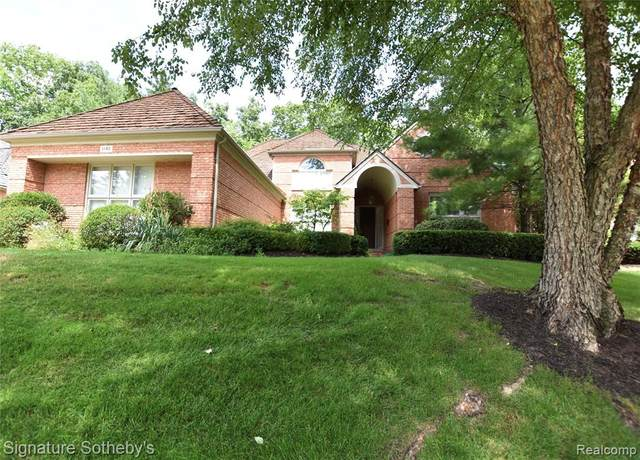 1140 Lone Pine Woods Drive, Bloomfield Twp, MI 48302 (#2210001097) :: The Alex Nugent Team | Real Estate One