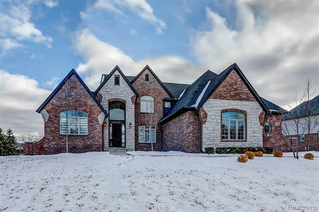 10547 Stoney Point Drive, Green Oak Twp, MI 48178 (#2210001235) :: The Mulvihill Group