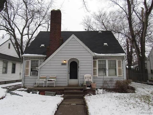 861 N Perry Street, Pontiac, MI 48340 (#2210001402) :: GK Real Estate Team