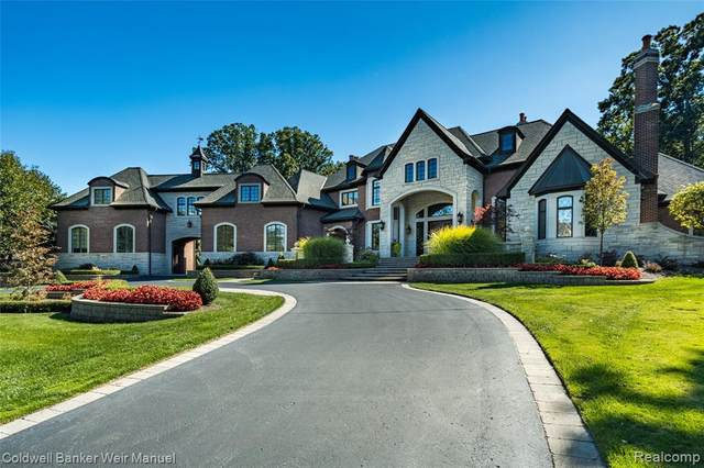 592 Barrington Park Drive, Bloomfield Hills, MI 48304 (#2210001636) :: Keller Williams West Bloomfield