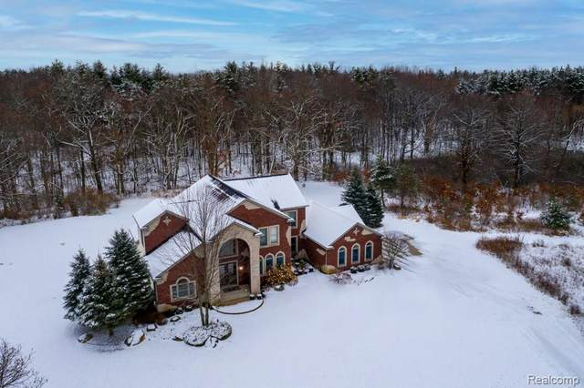 4460 Hosner Road, Addison Twp, MI 48370 (MLS #2210001877) :: The John Wentworth Group