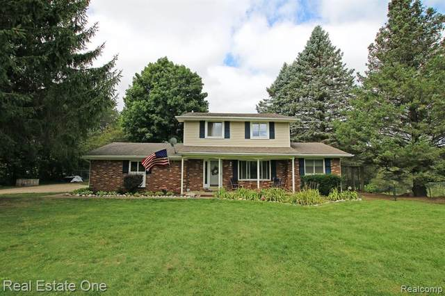 5285 Seymour Lake Road, Oxford Twp, MI 48371 (#2210002124) :: The Alex Nugent Team | Real Estate One