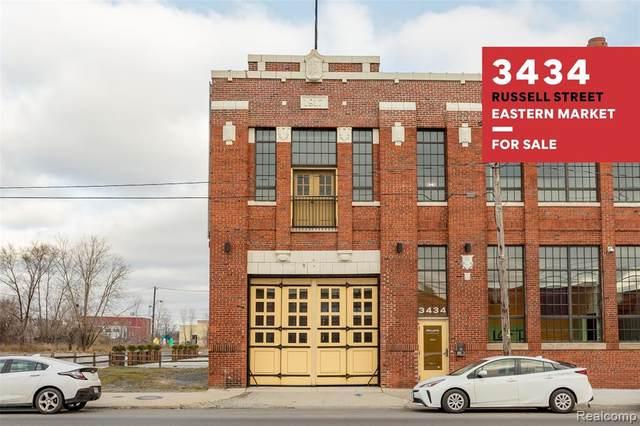3434 Russel Street #8, Detroit, MI 48207 (MLS #2210002202) :: The Toth Team