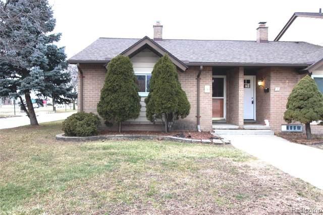 8401 18 MILE RD APT 1 #1, Sterling Heights, MI 48313 (#2210002253) :: The Alex Nugent Team | Real Estate One