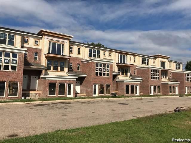 401-413 Legato Drive, Walled Lake, MI 48390 (#2210002391) :: Novak & Associates