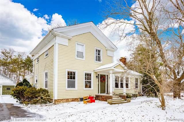 18910 Beck Rd, Northville Twp, MI 48168 (#2210002820) :: The Alex Nugent Team | Real Estate One