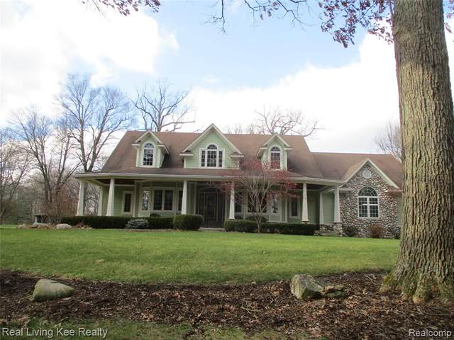 4184 Lake George Road, Dryden Twp, MI 48428 (#2210002875) :: GK Real Estate Team