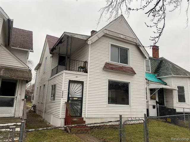1249 Meldrum Street, Detroit, MI 48207 (#2210003182) :: The Merrie Johnson Team