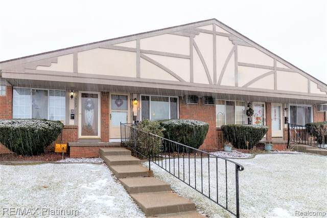 25370 Potomac Drive E #6, South Lyon, MI 48178 (#2210003267) :: The Alex Nugent Team   Real Estate One
