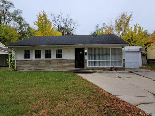 10731 Saratoga Street, Oak Park, MI 48312 (#2210003428) :: GK Real Estate Team