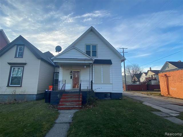 1629 24TH Street, Detroit, MI 48216 (#2210003483) :: Novak & Associates