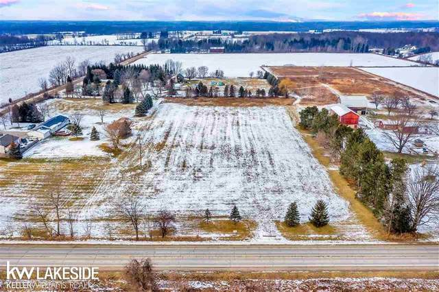 0 Dryden Rd, Almont Twp, MI 48003 (#58050032367) :: Robert E Smith Realty