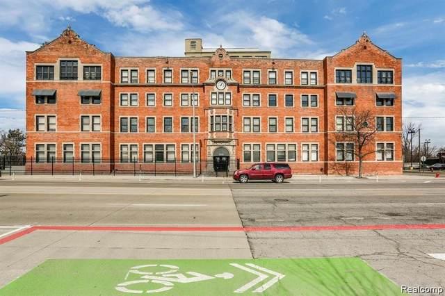 6533 E Jefferson Avenue Ll10, Detroit, MI 48207 (#2210003568) :: The Alex Nugent Team | Real Estate One