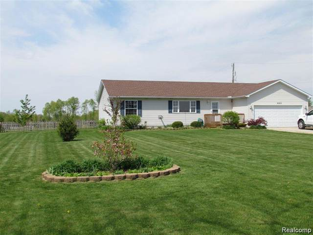 8523 Horn Road, Conway Twp, MI 48836 (MLS #2210003579) :: The John Wentworth Group