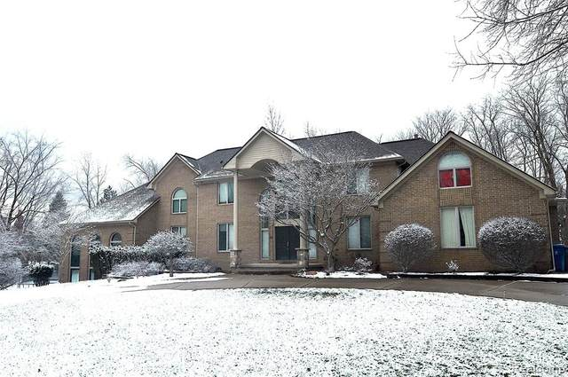 4540 Valley View Point, Oakland Twp, MI 48306 (#2210003677) :: The Merrie Johnson Team