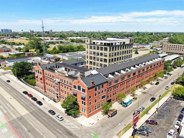 6533 E Jefferson St. Avenue #137, Detroit, MI 48207 (#2210003690) :: The Merrie Johnson Team