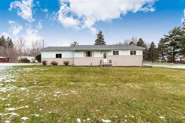 205 Almont, Almont, MI 48003 (MLS #58050032453) :: The John Wentworth Group