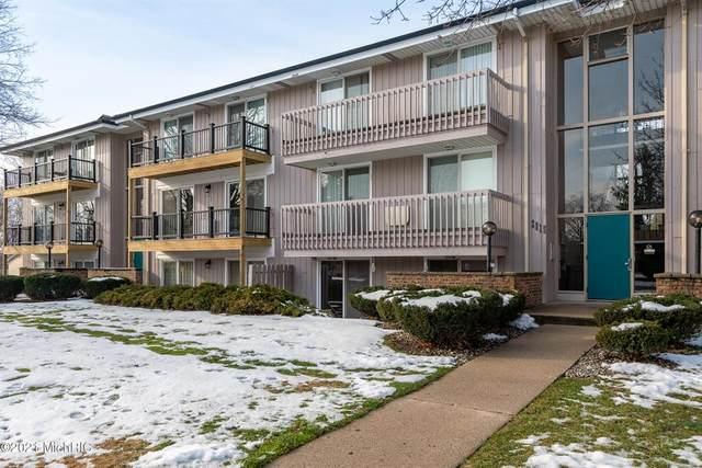 2615 Ridgecroft Drive SE #202, Kentwood Twp, MI 49546 (#65021001683) :: The Alex Nugent Team | Real Estate One