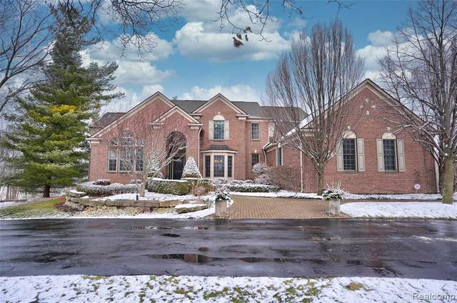 6215 Canter Creek Trail, Grand Blanc Twp, MI 48439 (MLS #2210004055) :: The John Wentworth Group