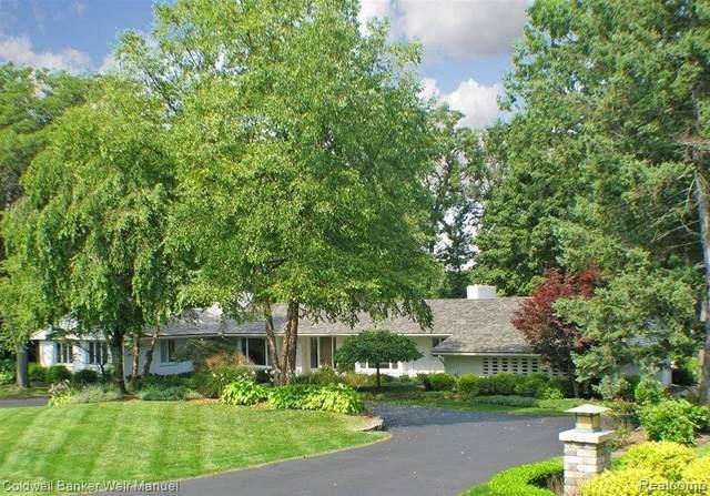 720 Kennebec Court, Bloomfield Hills, MI 48304 (#2210004061) :: Keller Williams West Bloomfield