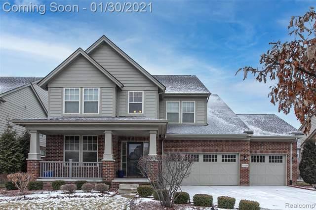 51109 Glen Hollow Avenue, Canton Twp, MI 48188 (#2210004064) :: BestMichiganHouses.com