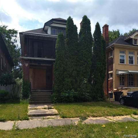 2059 Hazelwood, Detroit, MI 48206 (#2210004131) :: The Merrie Johnson Team