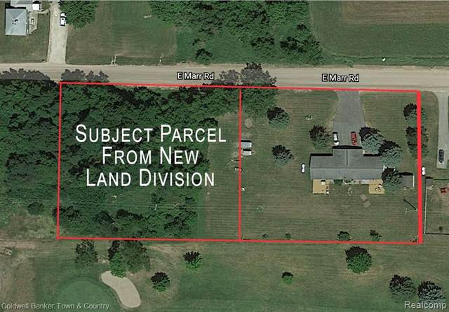 VL E Marr Road, Howell, MI 48855 (#2210004587) :: The Mulvihill Group
