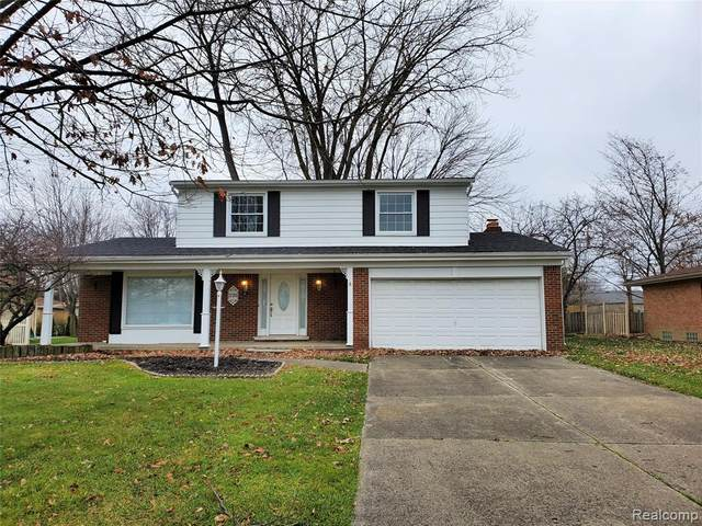 37305 Gregory Drive, Sterling Heights, MI 48312 (MLS #2210004847) :: The John Wentworth Group