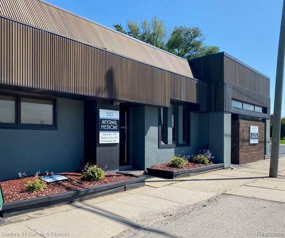 520-530 N Telegraph Road, Dearborn, MI 48128 (MLS #2210004857) :: The John Wentworth Group