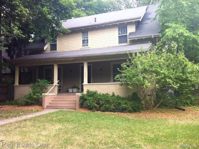 1404 W Huron Street, Ann Arbor, MI 48103 (MLS #2210005062) :: The John Wentworth Group