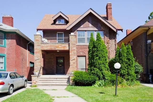 2252 Calvert Street, Detroit, MI 48206 (MLS #2210005233) :: The Toth Team