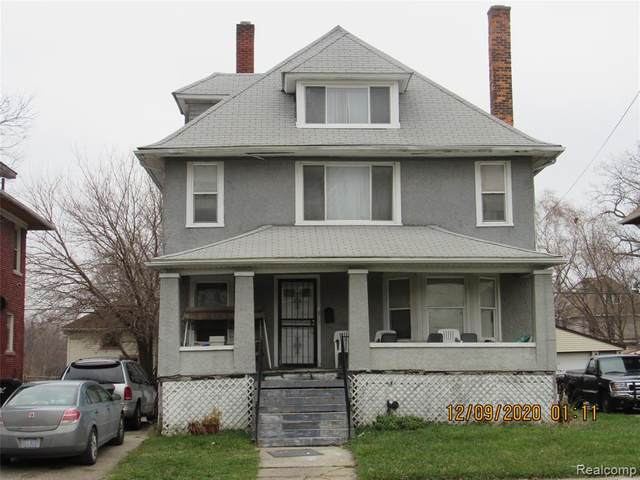 239 Trowbridge Street, Detroit, MI 48202 (MLS #2210005312) :: The Toth Team