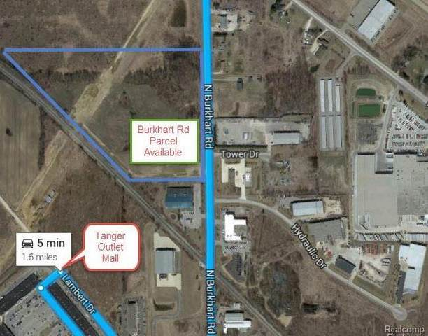 20 ACRES Burkhart Road, Howell Twp, MI 48855 (#2210005599) :: Real Estate For A CAUSE